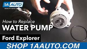 How To Replace Install Water Pump 2002