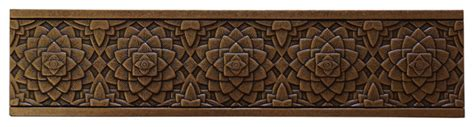 pinea tile border bronze traditional accent trim and