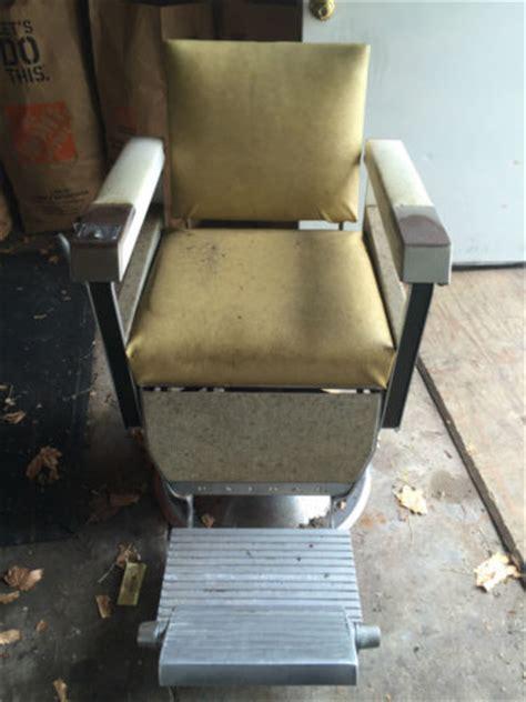 Kochs Barber Chair 1960 by 1960 Emil J Paidar Barber Chair