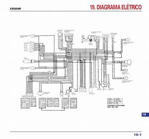 Manual De Servi U00e7o Xr200 R Nx200 Cbx200s Mskbb931p Diagrama