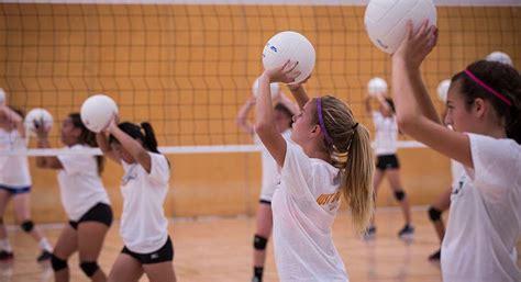 nike volleyball camp   university  mary washington
