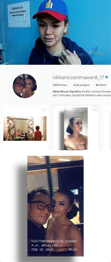 Tambah Nama Belakang Dan Pamer Cincin Nikita Mirzani Diam