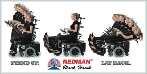 used redman power chair redman chief 107 zrx standing wheelchair power stand