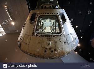 Apollo 11 command module at the National Air and Space ...