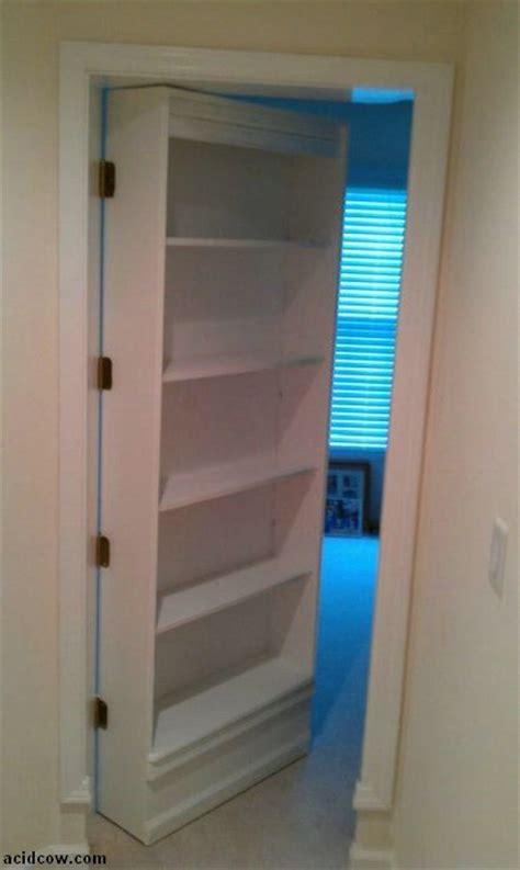 diy bookcase closet door hidden door bookshelf diy 16 pics two diy