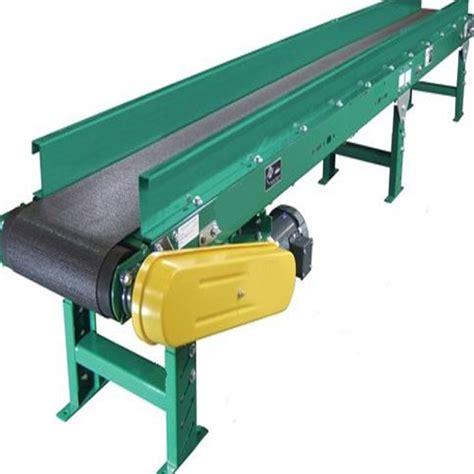 material handling equipment flat belt conveyors