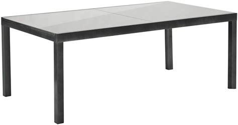gartentisch ausziehbar metall merxx gartentisch aluminium ausziehbar 110x300 cm grau kaufen otto
