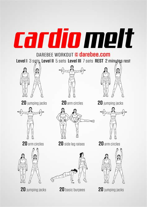 Bedroom Cardio Workout by Cardio Melt Workout