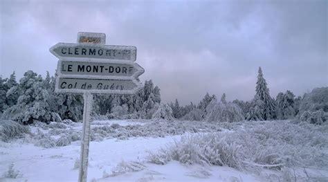 je suis absente du bureau meteo le mont dore sancy 28 images station de ski de