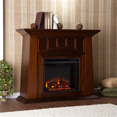 lowery espresso electric fireplace mantel package fe