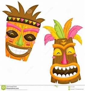 Masks Clipart Hawaiian Pencil And In Color Masks Clipart