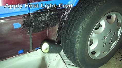 How To Prep And Apply Truck Bed Liner