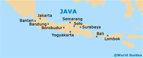 banten maps  orientation banten west java indonesia
