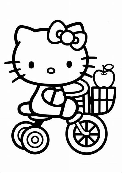 Kitty Hello Coloring Pages Ai Pdf