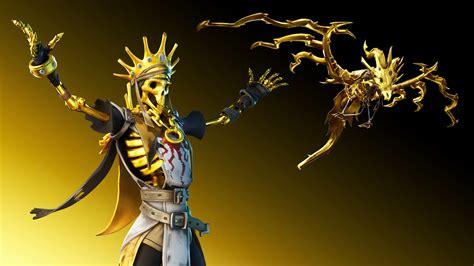 7680x4320 Golden King Fortnite 8k Wallpaper Hd Games 4k