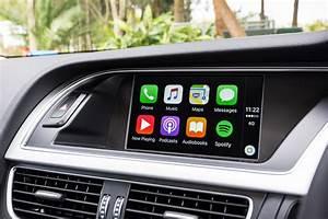 Apple CarPlay Retrofit Upgrade is available older Audi