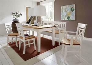 Esszimmer Weiß Grau : esszimmer landhausstil fjord wei gelaugt ge lt von jumek g nstig bestellen skanm bler ~ Markanthonyermac.com Haus und Dekorationen