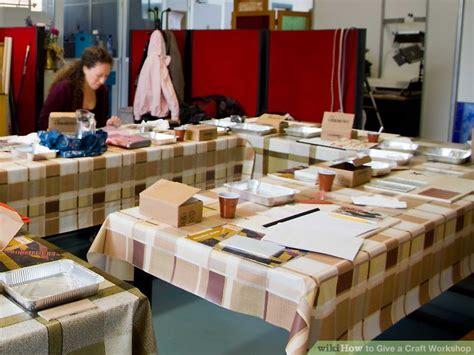give  craft workshop  steps  pictures