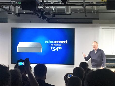 echo connect echo connect is a 35 box that turns echo into landline phone business insider