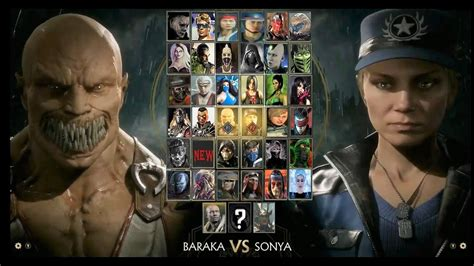 Mortal Kombat 11 Full Character Roster With Dlc