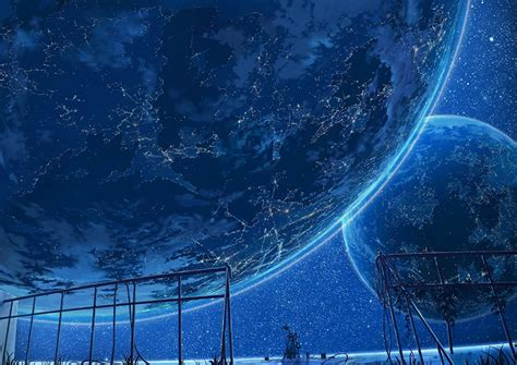 Space Anime Wallpaper - picture planets space anime