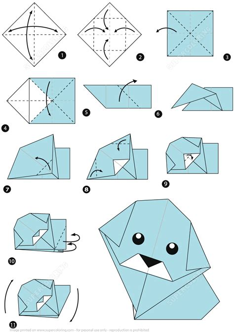 origami templates how to make an origami step by step free printable papercraft templates