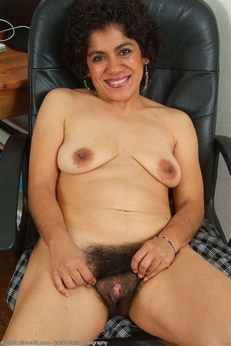 Cute Hairy Mexican Majal Mature Porn Photo