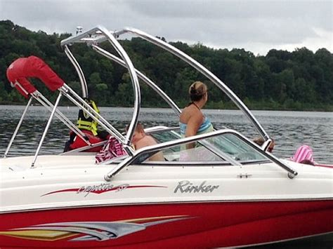 Rinker Boat Wakeboard Tower by Rinker Wakeboard Towers Aftermarket Accessories