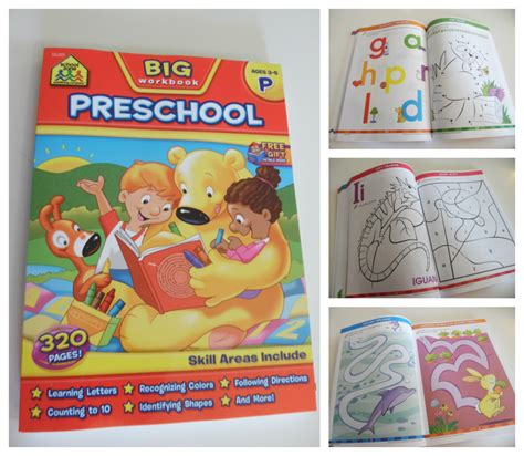 workbooks resources to teach preschoolers at home at 715 | Big preschool book 1024x891