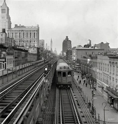 New York City Subway Trains in 1942