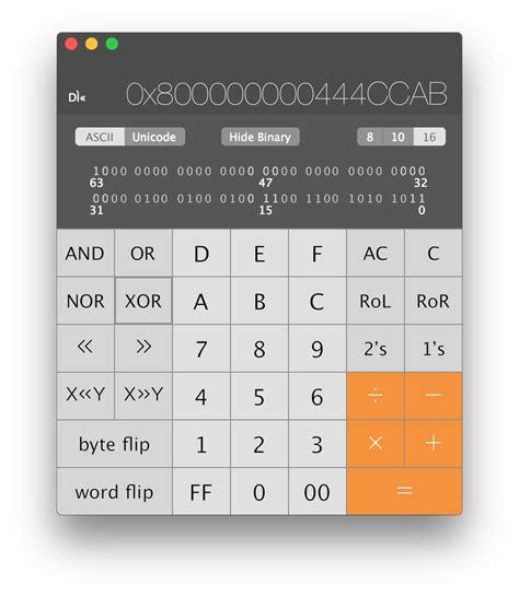 access  scientific calculator programmer calculator
