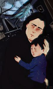 Snape with Harry ( Lily's death ) 2 by MarinaMichkina on ...