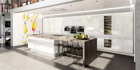 cuisine moderne avec ilot cuisine contemporaine avec îlot central cuisines charles