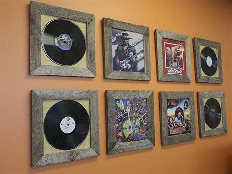 record frames reclaimed wood pinterest woods