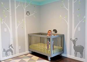 gray aqua birch wall decal hupehome With great ideas for baby room decals for walls