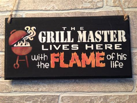 grill master lives    flame   lifewooden