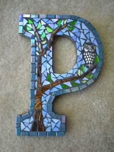 custom listing for nicolle two mosaic monograms letter s With mosaic letter tiles