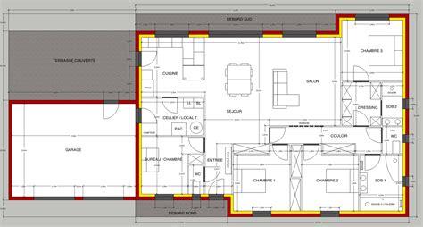 plan maison 150m2 4 chambres avis sur plan de maison plain pied de 150m2 36 messages