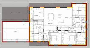 avis sur plan de maison plain pied de 150m2 36 messages With plan de maison 150m2 0 cuisine adorablement plan maison plain pied plan maison