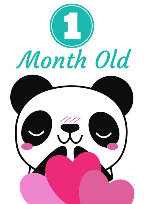 Panda Invasion! Free Printable Baby Monthly Milestone. Wise Signs Of Stroke. Dec 11 Signs. Students Union Signs Of Stroke. Beauty And The Beast Character Signs Of Stroke. God Signs Of Stroke. Coping Signs. Property Signs Of Stroke. May Signs Of Stroke