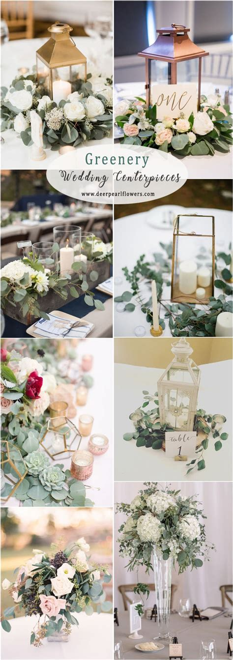 eucalyptus wedding decor ideas   deer pearl flowers