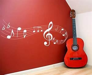 Music note scale Vinyl Lettering wall words quotes