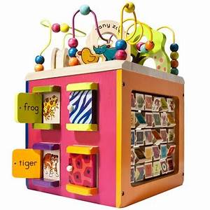 best baby toddler toy ever wooden activity cubes With best wooden toys for babies