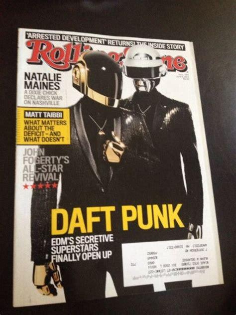DAFT PUNK ROLLING STONE Magazine June 6 2013 Issue 1184 | eBay