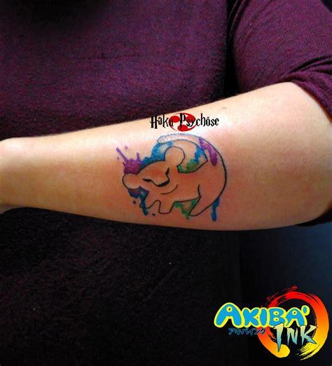 tatouage king lion