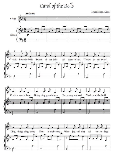 A simple piano duet arrangement of the ukrainian christmas carol, carol of the bells. 33+ Carol Of The Bells Beginner Piano Sheet Music Gif // Music Sheet Free