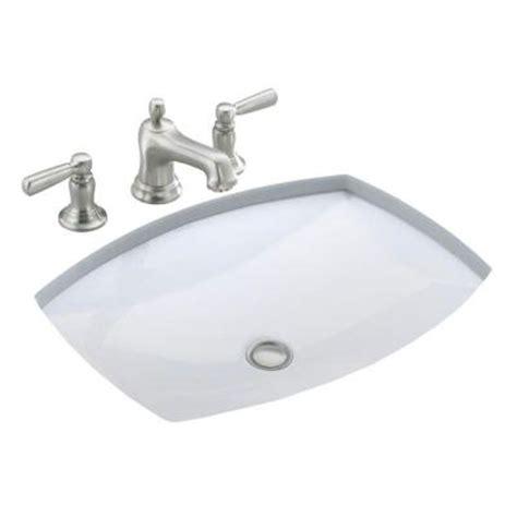 kohler kelston under mounted bathroom sink with overflow