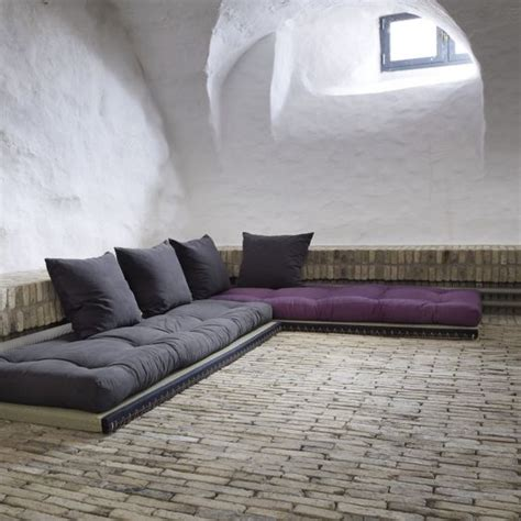 canapé de sol des canapés à même le sol floriane lemarié