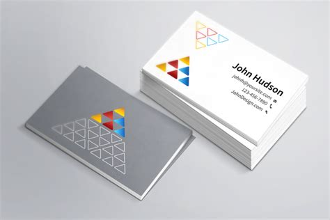 Business Card Template & Mockup Psd Business Card Print Setup Visiting Delhi Your Own Printing Johannesburg South Vistaprint Template Ahmedabad Raised Staples