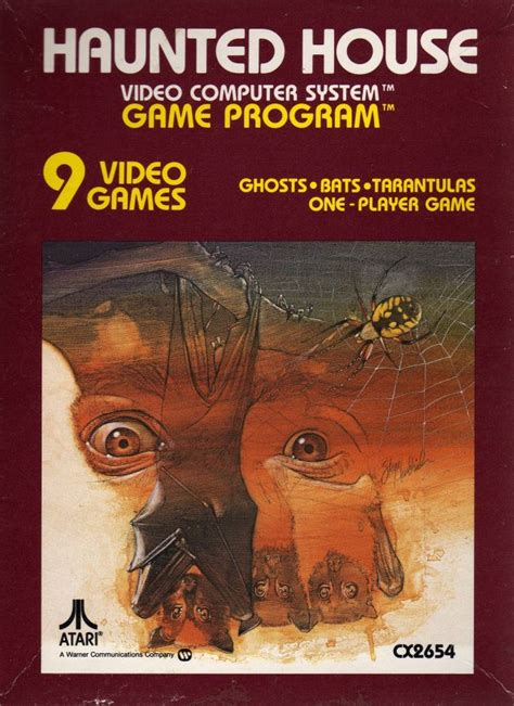 Box Art For The Atari 2600 Game Haunted House One Of